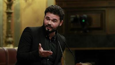 Un feriante deja en ridículo a Gabriel Rufián