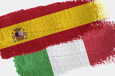 italianización de España