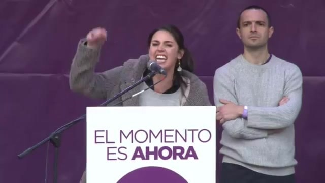 Irene Montero votar 16 años