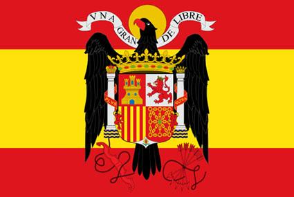 España banderas y escudos