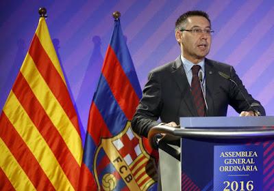 Bartomeu: silbar himno español no es menospreciar ningún símbolo