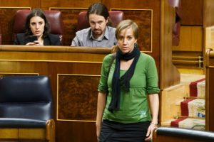 Tania Sánchez ministra