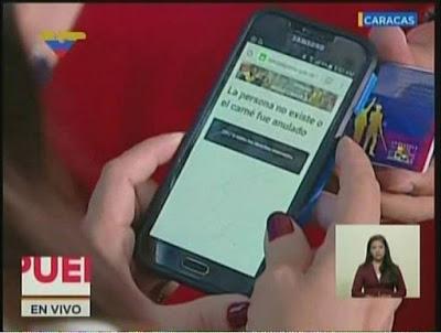 ridículo de Maduro