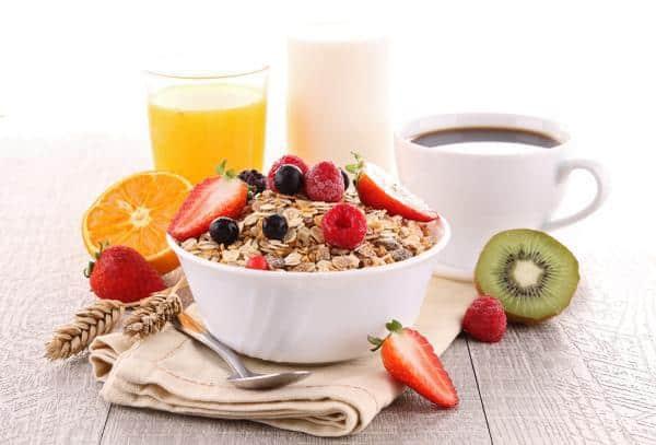 ideas de desayunos saludables gestation descabalgar de peso