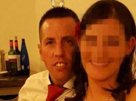 El Chicle junto a su mujer (Facebook)