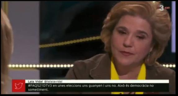 Pilar Rahola ridículo espantoso