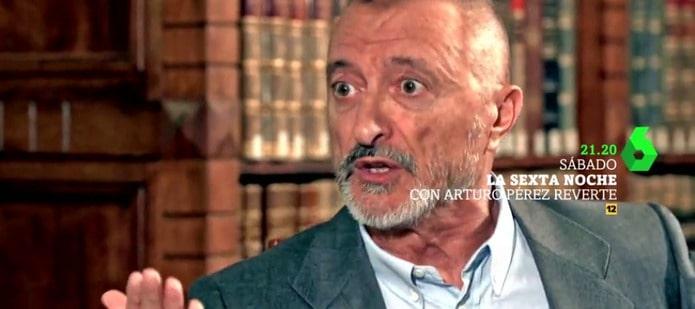 arturo perez reverte entrevista en la sexta