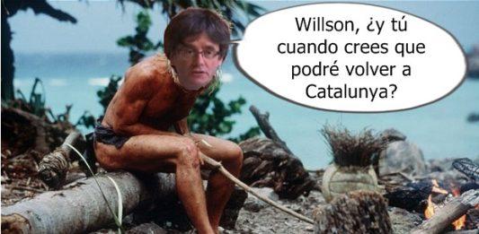 Puigdemont, Twitter