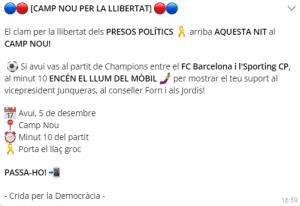aquelarre Camp Nou