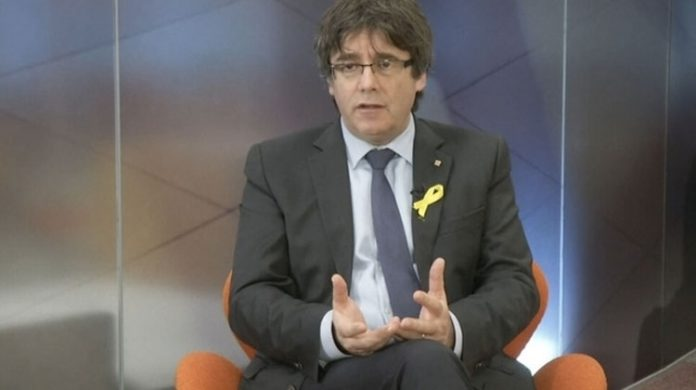 Puigdemont, twit