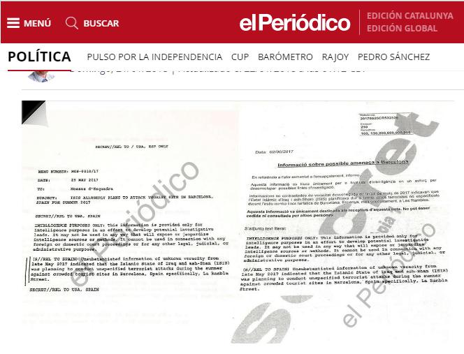 Mossos, atentado de Barcelona