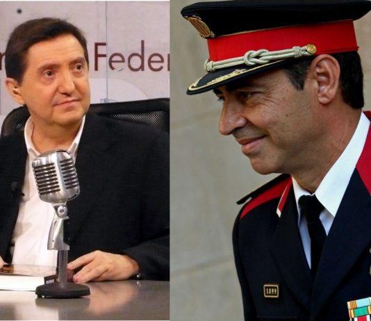 Federico Jiménez Losantos, disolución mossos