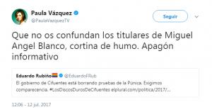 No ver el programa estrena, Paula Vázquez