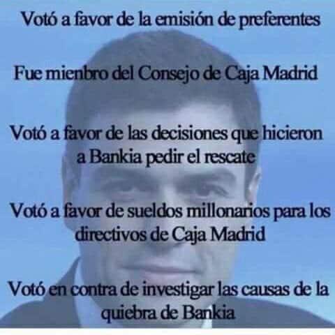 Pedro Sánchez, impuesto a los bancos