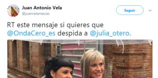Julia Otero, despido
