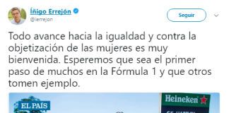 Azafatas Formula 1