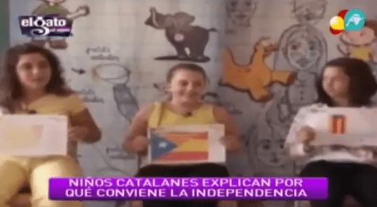 Manipulación niños, TV Catalana