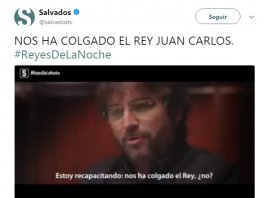 Jordi Évole, Rey Juan Carlos
