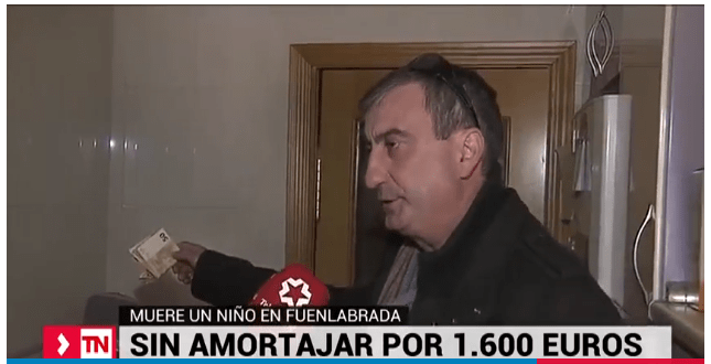 Hombre que pagó funeraria del hijo de 7 años de su empleado