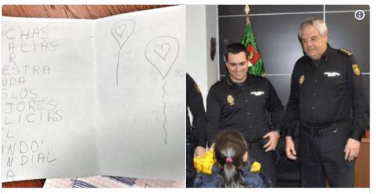 Policía niña pedófilo