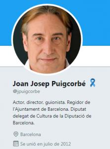 Cambio de nombre de Juanjo Puigcorbé