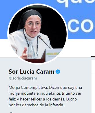 Sor Lucía Caram lazos amarillos
