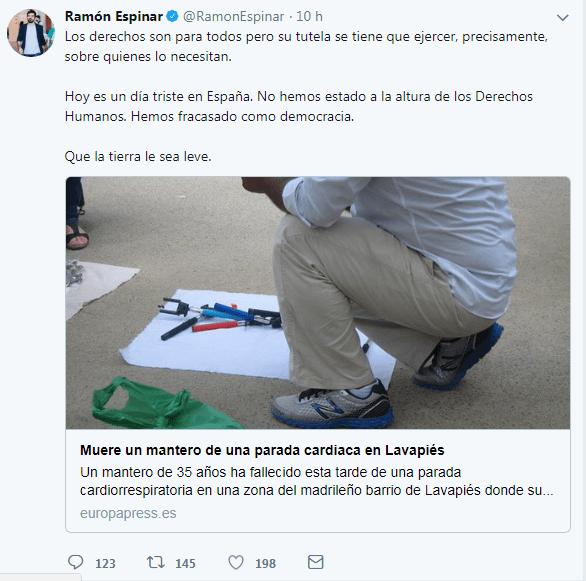 Podemitas manipulan, Lavapiés