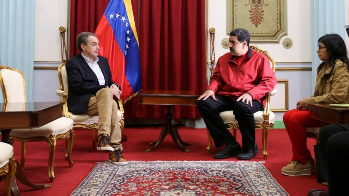Zapatero Venezuela miserable