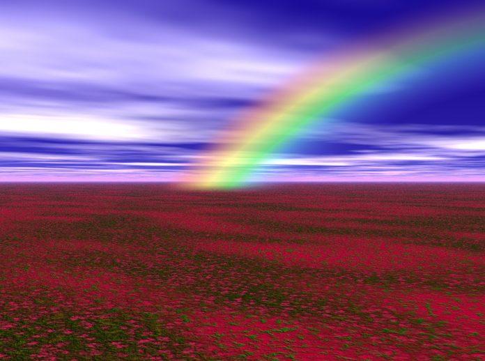 arcoíris de luto