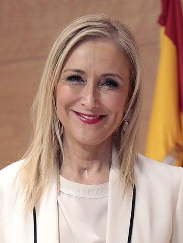 Cristina Cifuentes, máster