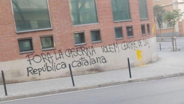 Atacan cuartel Guardia Civil, Gracia