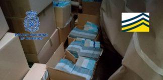 La Policía Nacional desmantela en Gerona, leche para bebés