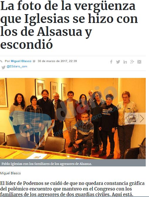 Paralamento de Navarra apoyo agresores de Alsasua