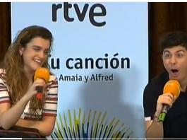 No voy a ver a Alfredo y a Amaya en Eurovisión