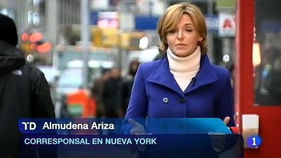 Tuit de la corresponsal de TVE Almudena Ariza, Alfonso Ussía