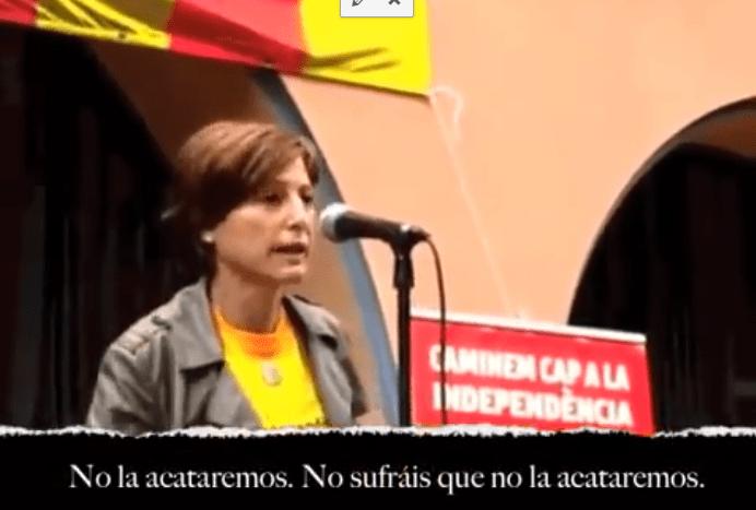 marido de Carmen Forcadell se queja del trato del independentismo