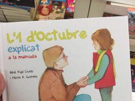 Libro infantil, 1 de octubre más de mil heridos