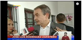 Venezuela, Zapatero abucheado
