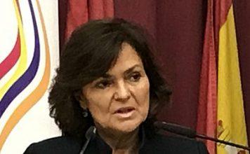 Carmen Calvo libertad de expresión