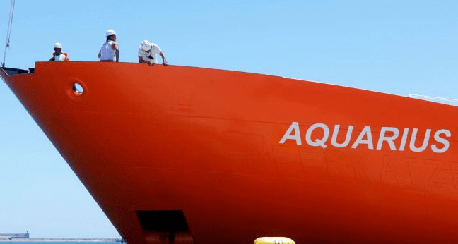 Violadores a bordo del Aquarius