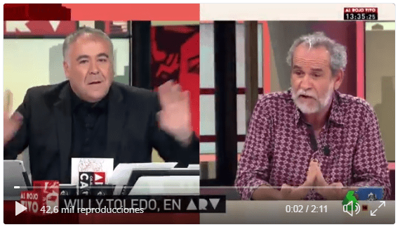 Ferreras, Willy Toledo