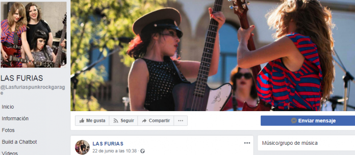 Manifestación feminista, agresión a grupo musical de mujeres