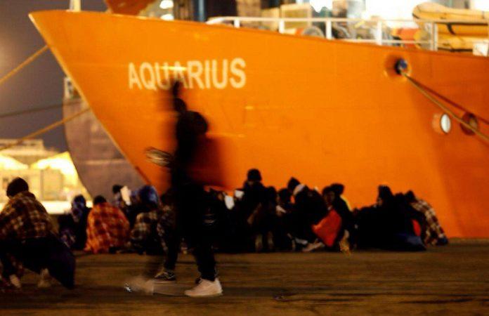 migrantes por mar a Europa