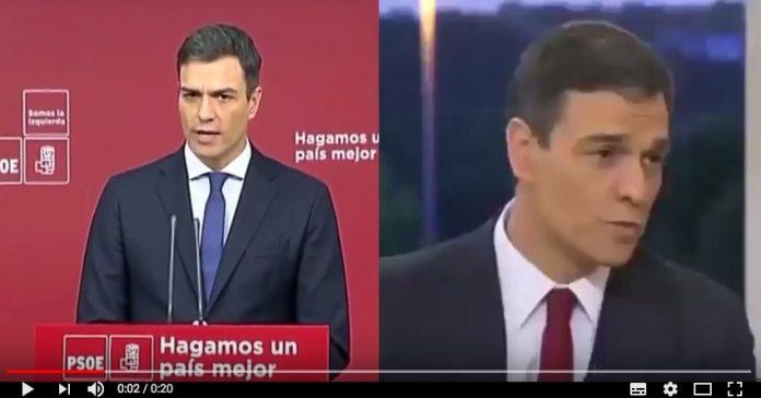nueva mentira de Pedro Sánchez