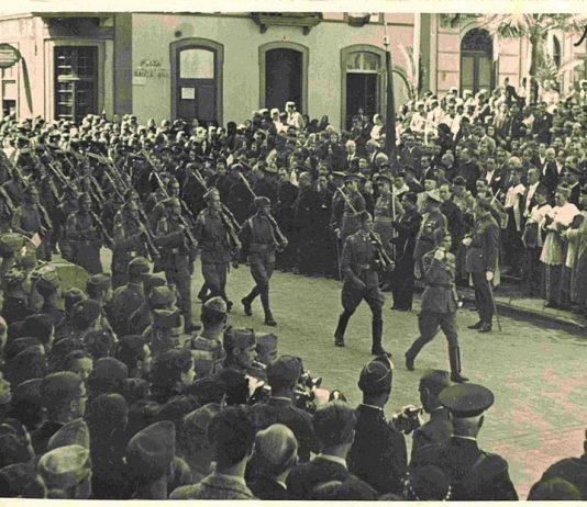 El manifiesto de Franco en Las Palmas el 18 de julio de 1936