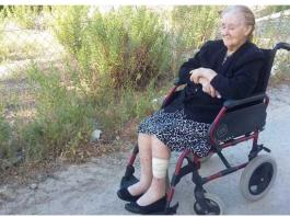 Okupan la casa de una anciana de 98 años