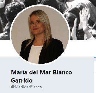 Mari Mar Blanco, fotografía de Miguel Ángel Blanco fallecido
