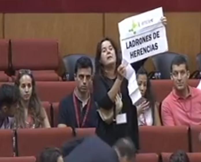 Parlamento de Andalucía, impuesto de sucesiones