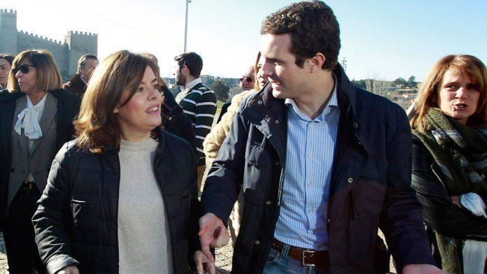 Soraya Saénz de Santamaría, Pablo Casado