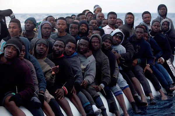 subsaharianos esperan en Marruecos